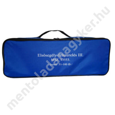 (MK03) Munkahelyi elsősegély felszerelés (51-100 főig) kék