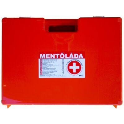 """MFC Elsősegély doboz """"C"""" járműkategóriához fali tartóval"""