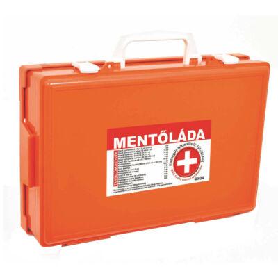 (MF04) Falra szerelhető munkahelyi elsősegély felszerelés (101-200 főig) narancs