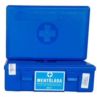 (MK01) Munkahelyi elsősegély felszerelés (1-30 főig) kék